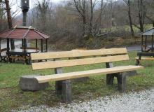 public bench, urban furniture, TP1208
