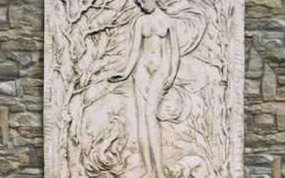 pannello in cemento bianco, Pa04
