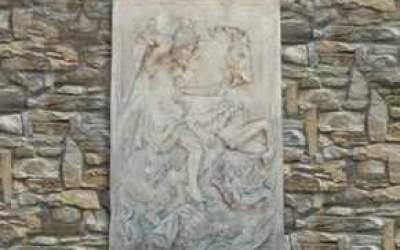 pannello in cemento bianco, Pa08