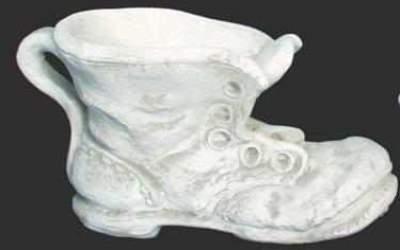 scarpone in cemento bianco, Va03B