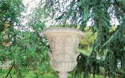 vaso cemento bianco Vs001