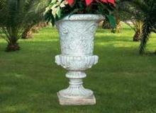vaso cemento bianco Vs002B