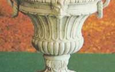 vaso cemento bianco Vs006A