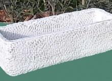 cassetta in cemento bianco, Vs149