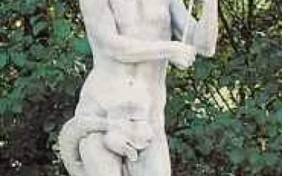 Statua in cemento bianco Nettuno St16