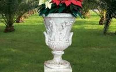 vaso cemento bianco Vs003