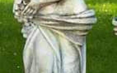 Statua autunno in cemento da giardino,  TSA33C