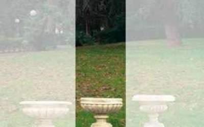 ciotola cemento bianco Vs028