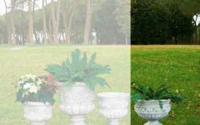 vaso cemento bianco Vs018