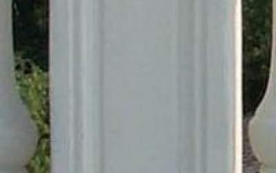 Pilastro cemento bianco Ba01A/Angolare