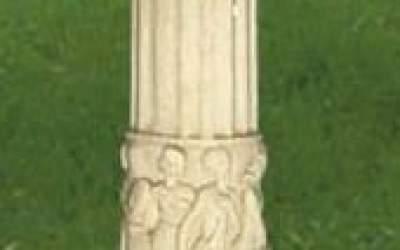 colonna cemento da giardino TC30