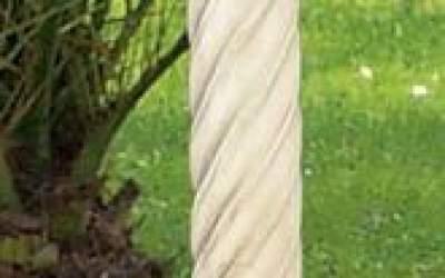 white cement Column, Co38
