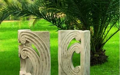 base in cemento da giardino, TC40