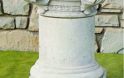 colonna in cemento da giardino, TC42
