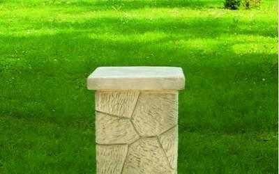Base in cemento da giardino TC71