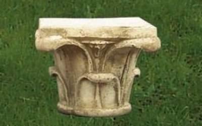capitello cemento da giardino, TC78