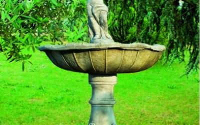 Fontana in cemento bianco Savona Fn25