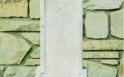 Fontana a parete, cemento bianco Brescia Fn57