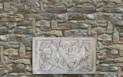 pannello in cemento bianco Pa13