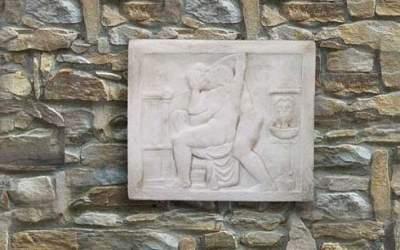 pannello in cemento bianco Pa18