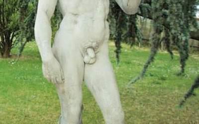 David di Michelangelo statua da giardino, TSA02E
