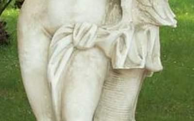 Statua in cemento bianco da giardino,  St54