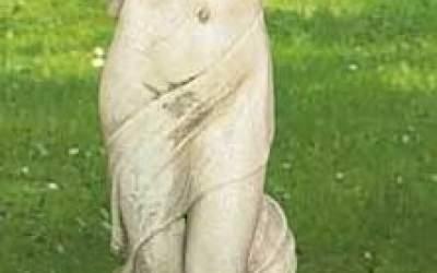 Statua in cemento bianco da giardino, St56