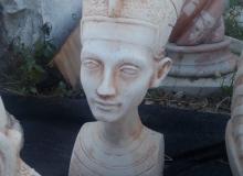 busto Tutan cemento bianco, TBS012